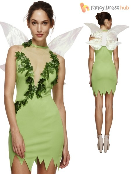 Extra Small Green Ladies Fever Magical Fairy Costume