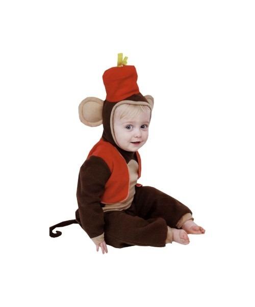 Monkey Fez Baby Animal Costume