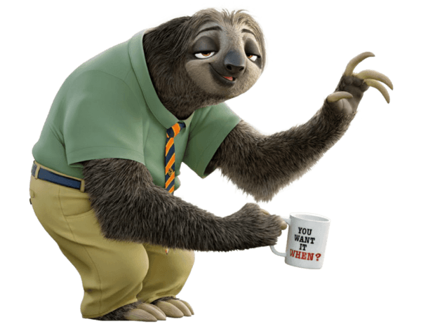 Dmv Workers Show Sense Of Humor With Zootopia