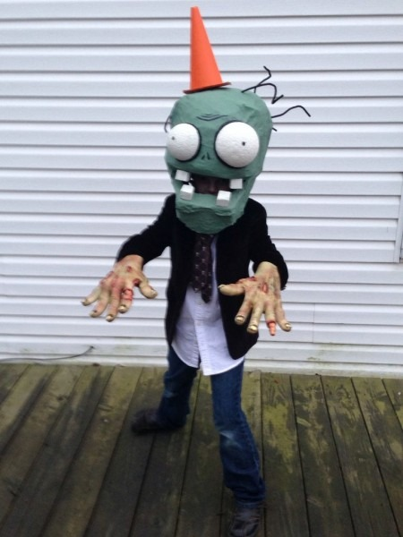 Plants Vs Zombies Costume  4 Steps (with Pictures)