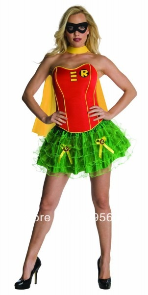 Online Shop Free Shipping Ladies Robin Super Woman Super Hero