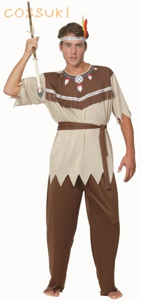 Free Shipping! Newest! Halloween Cool Adult Men Ancient Indian