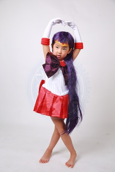 Free Shipping Sailor Moon Crystal Sailor Mars Hino Rei Fighting