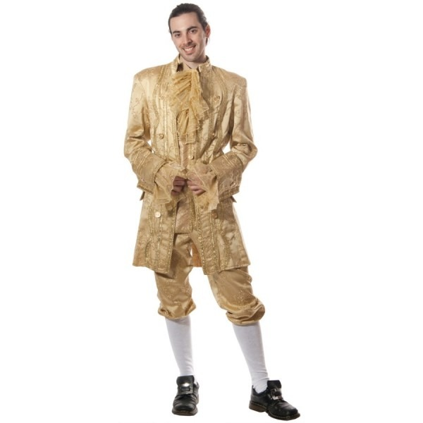 Gold Colonial Man Costume