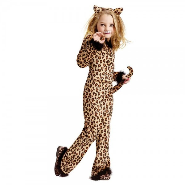 Fun World Girls Pretty Leopard Child Costume
