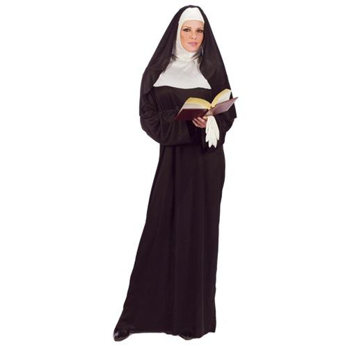 Mother Superior Nun Adult Womens Halloween Costume