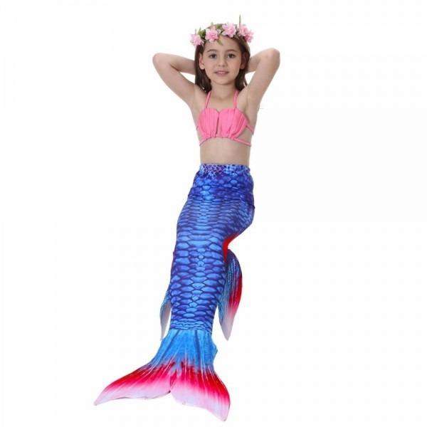 Girl Mermaid Tail Custome Baby Girl Kids Mermaid Tail Fancy Dress