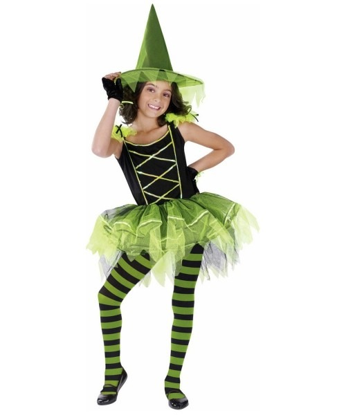 Witch Ballerina Halloween Costume
