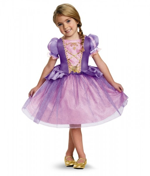 Disney Rapunzel Girls Classic Dress Costume