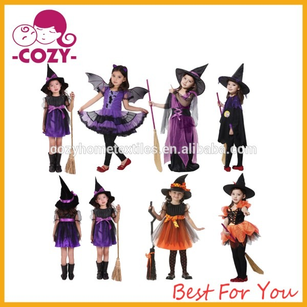 Girls Fairytale Toddler Witch Costume 2017 New Fashion Pretty