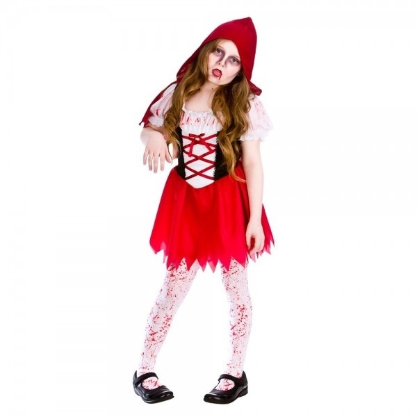 Girls Little Red Riding Hood Storybook Book Day Character, Red