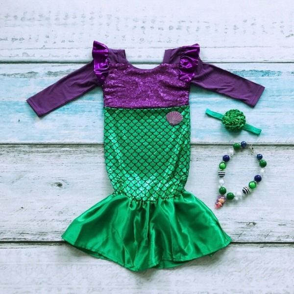 Girls Outfit Child Kid Dress Girls Baby Clothes Lovely Beauty