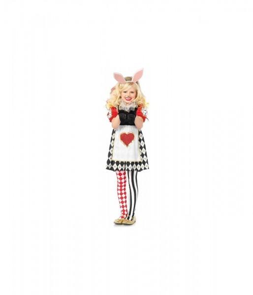 Rabbit In Wonderland Girls Costume