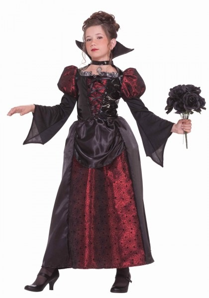 Vampire Miss Kids Halloween Costume Girls Vampire Costumes