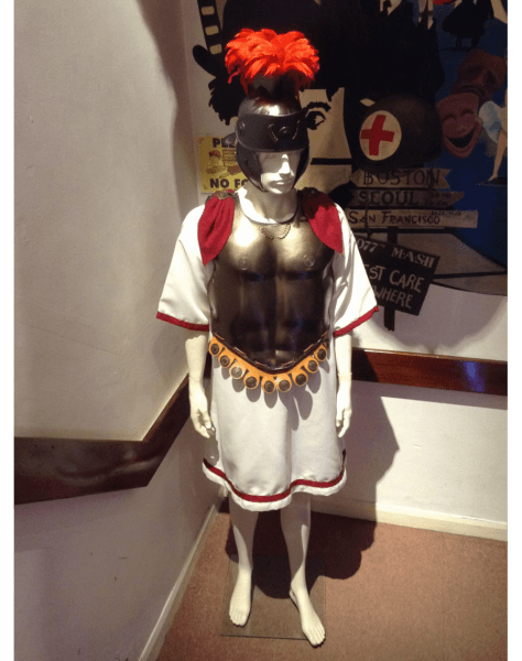 Gladiator Brutus Roman Film Hire Deluxe Rental Costume Le Piccole