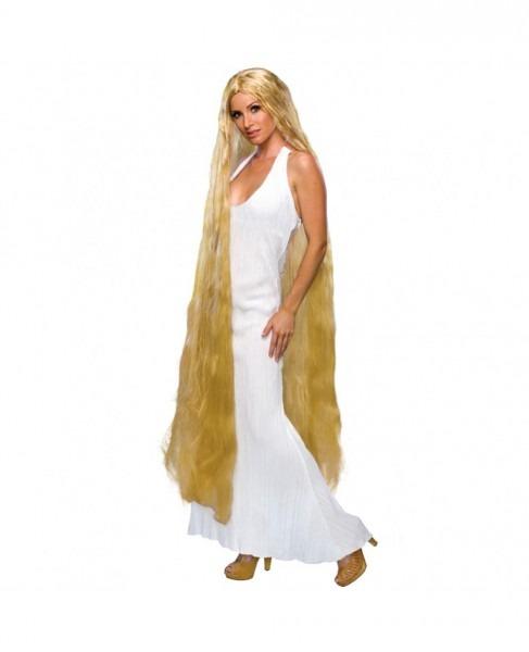Lady Godiva Long Blonde Wig