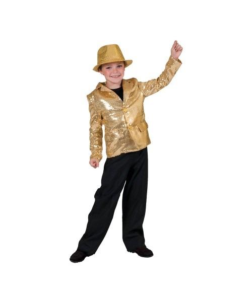 Gold Disco Boys Costume