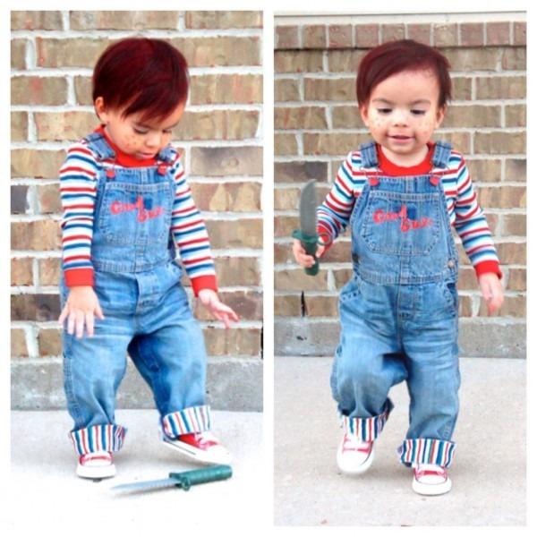 Good Guy Chucky Costume Toddler Chucky Best Party Supply Ideas Of Chucky
