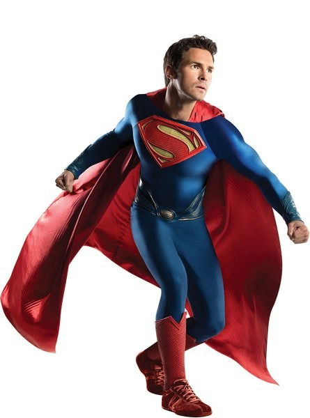Grand Heritage Superman Man Of Steel Adult Costume  The Coolest