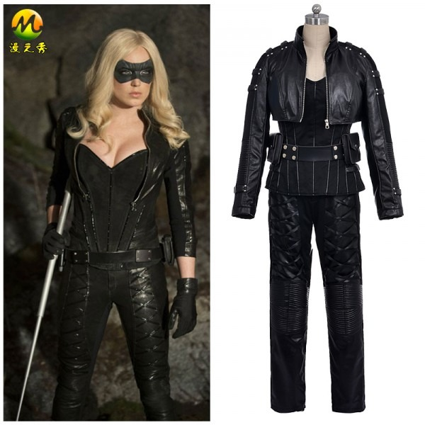 Black Canary And Green Arrow Costume