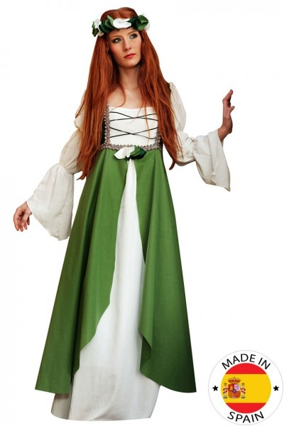 Green Middle Ages Costume For Women  Adults Costumes,and Fancy