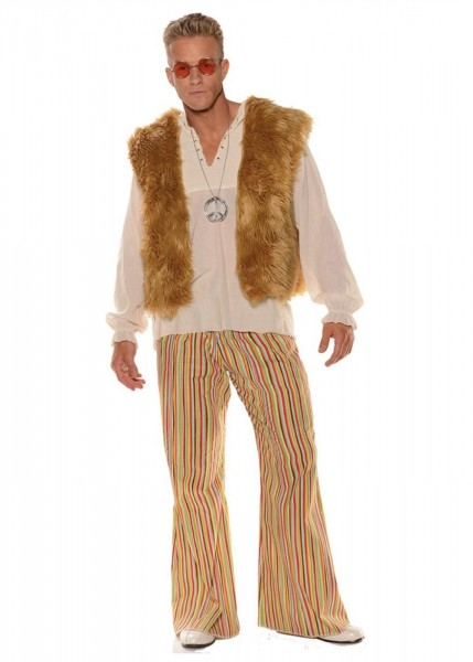 Groovy Guy 60s Hippie Mens Costume