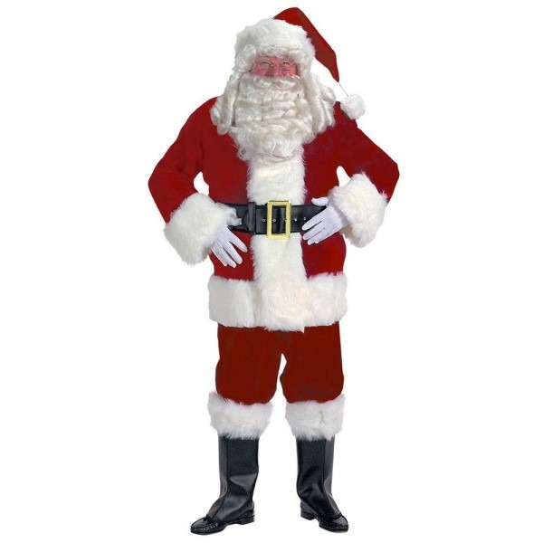 Halco Velvet Santa Suit Costume For Adults