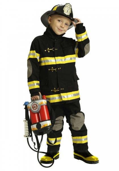 Kid Firefighter Costume