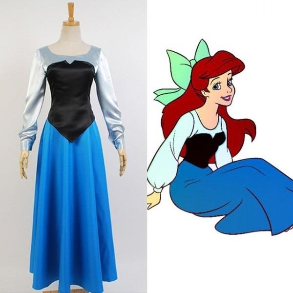 Halloween Adult The Little Mermaid Ariel Costume Cosplay The