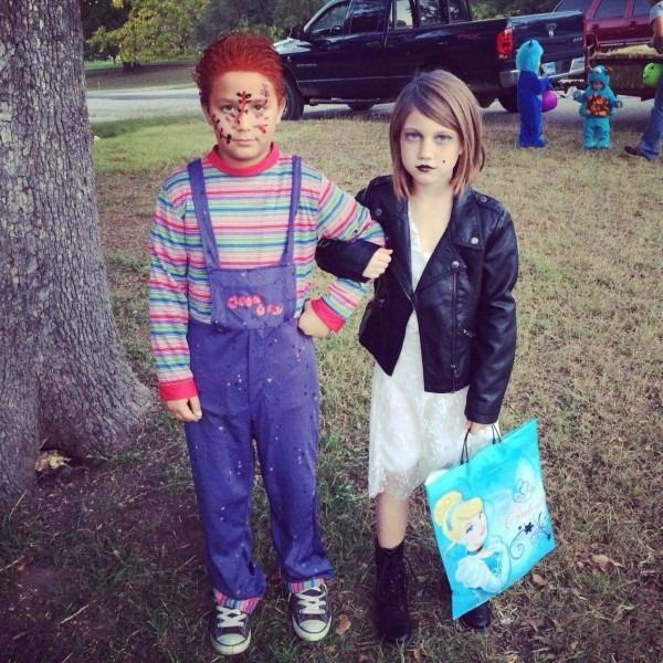 Halloween Chucky And Chucky S Bride I Can Be Crafty Ideas Of