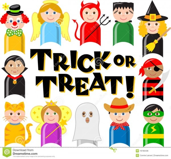Halloween Costume Kids Eps Stock Vector  Illustration Of Costumes