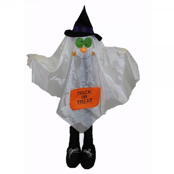 36 In  Standing Ghost Costume Greeter
