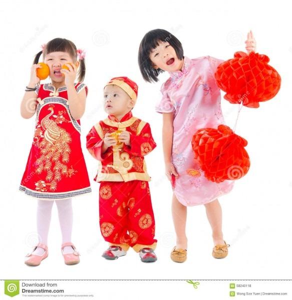 Happy Chinese New Year Stock Photo  Image Of Lantern