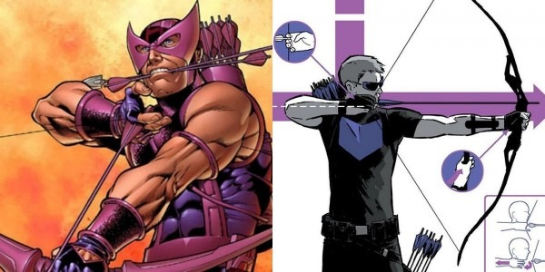 Marvel Abandons Hawkeye's Movie Costume For Classic Look