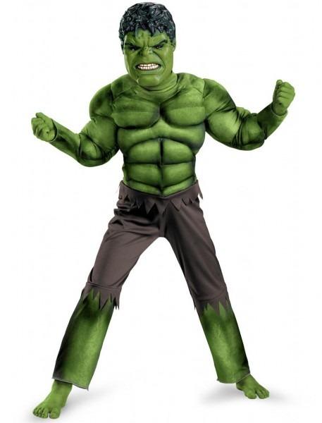 2018 Hot Sale! New Avengers Hulk Costumes For Kids  Fancy Dress