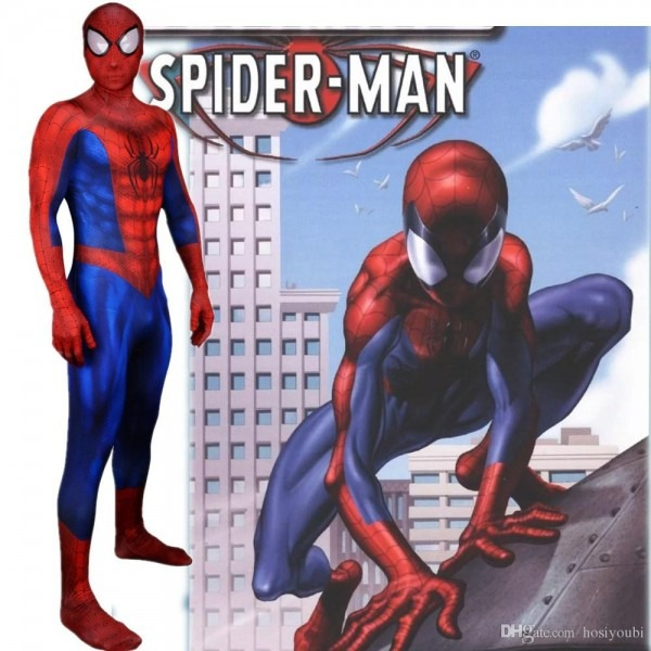 Hot Sale Ultimate Spider Man Costume 3d Original Movie Superhero