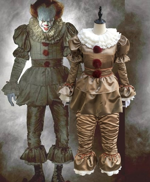 Stephen King's It Cosplay Costume Pennywise Costume Clown Costume