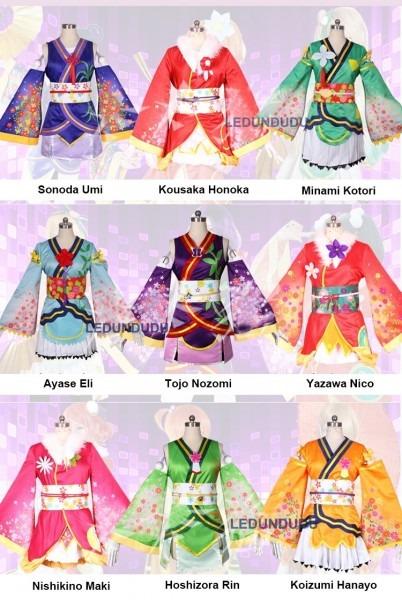 Anime Love Live Cosplay Costume Lovelive Angelic Angel Women
