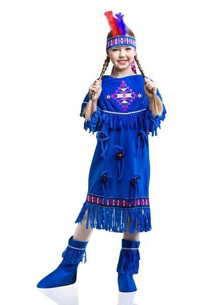 Buy Kids Indian Girl Halloween Costume Sacagawea Apache Cherokee