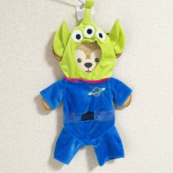 Hong Kong Disney Land   Duffy Toy Story Alien Costume   Abroad