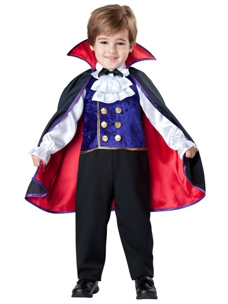 Kids Vampire Boys Toddler Deluxe Costume