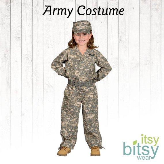 Kids Halloween Costume Kids Camo Costume Army Combat Uniform