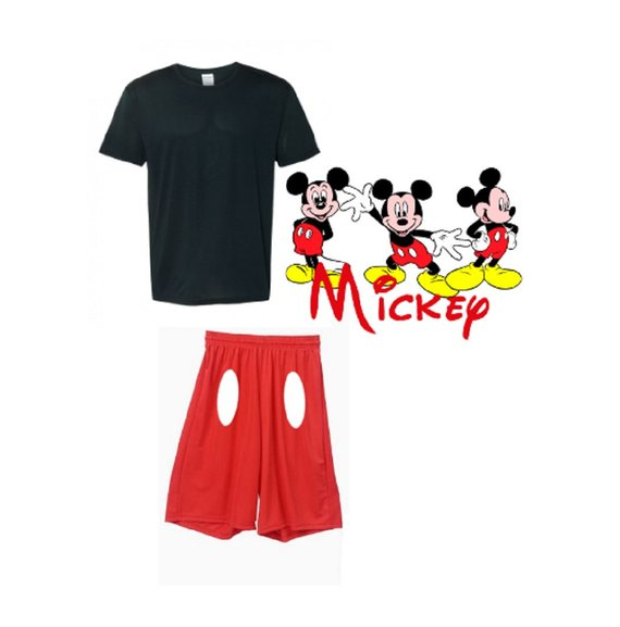 Run Disney Mickey Mouse Costume Mickey Mouse Halloween