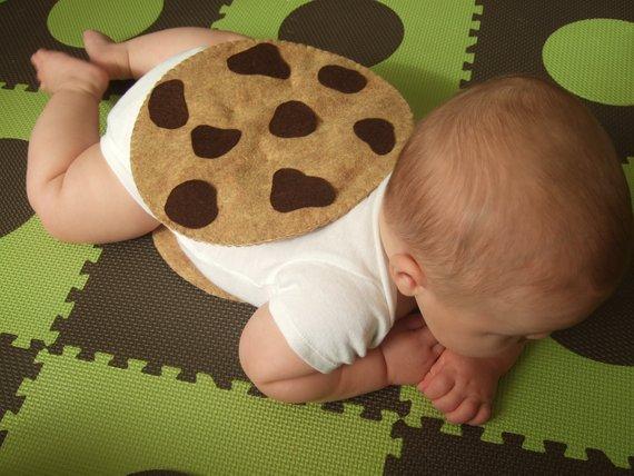 Baby Costume Pdf Pattern Felt Chocolate Chip Cookie