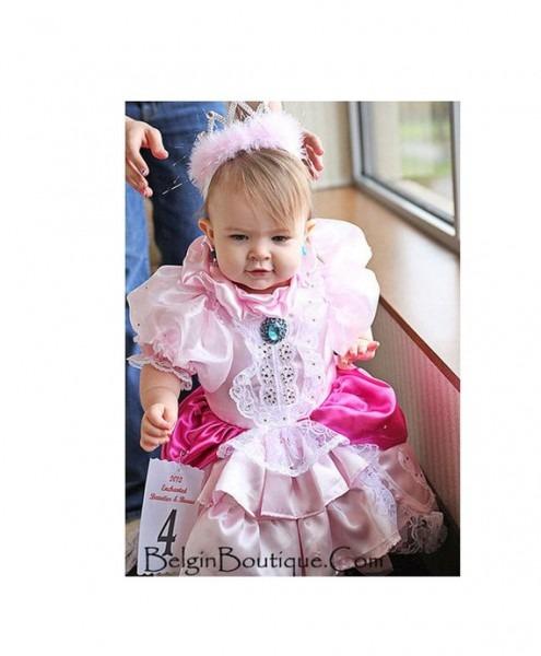 Pageant Pink Baby Miss America Ooc Glitz Pink Princess Peach
