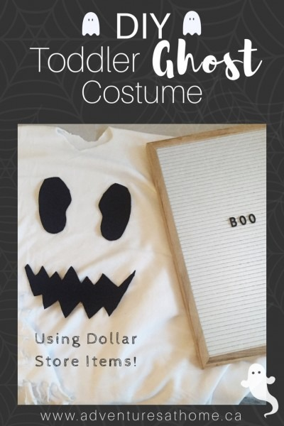 Diy Toddler Ghost Costume!