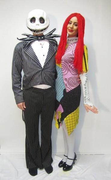 Jack Skellington & Sally From Nightmare Before Christmas Costume