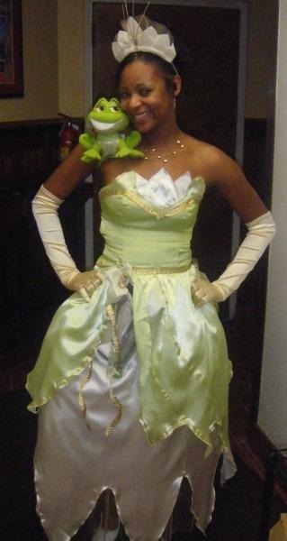 Incredible Princess Tiana Halloweenostumeostumes For