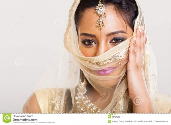 Indian Woman Sari Stock Photo  Image Of Elegant, Cutout