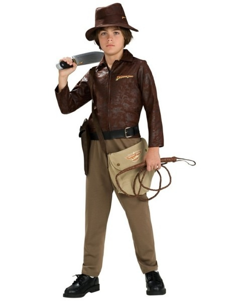 Indiana Jones Costume Deluxe